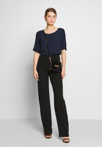 Nly by Nelly - STRAIGHT PANT - Trousers - black - 1