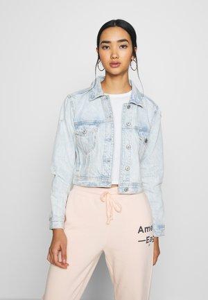 SHRUNKEN CLASSIC JACKET - Denim jacket - blue