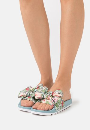 SLIDE PRINTED BOW - Mules - sugarar