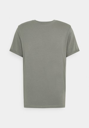 JPRBLALOGO SPRING TEE CREW NECK  - T-Shirt basic - new sage