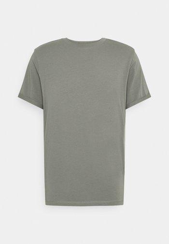 JPRBLALOGO SPRING TEE CREW NECK  - T-shirt - bas - new sage