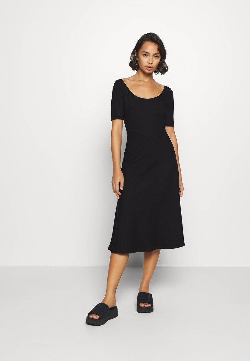 Zign Petite - Jersey dress - black