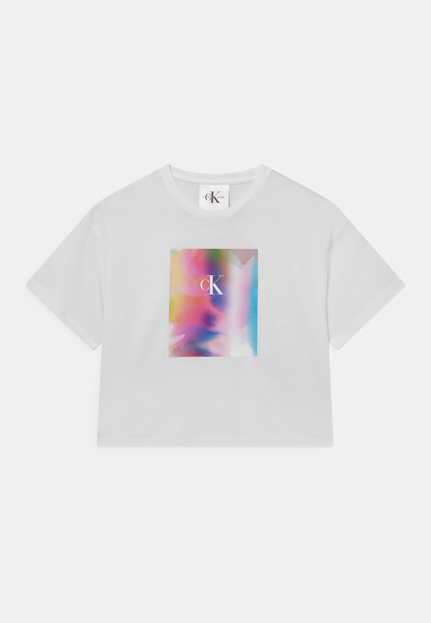 Bambini PRIDE CROPPED TEE - T-shirt con stampa