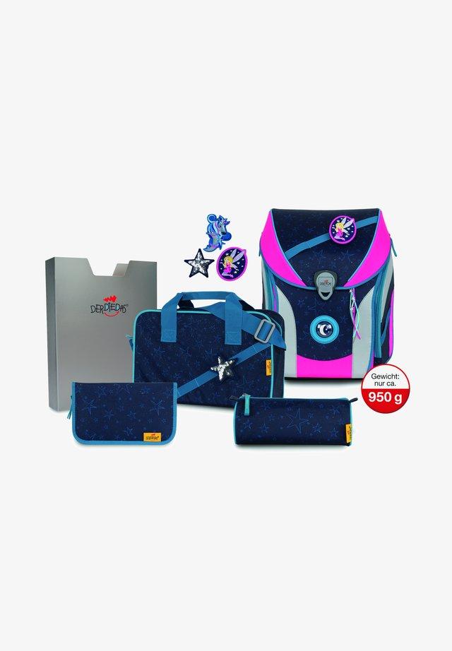 Set 5tlg - School set - blue fairy