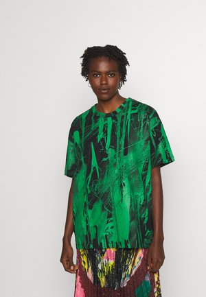 MINDSCAPE - T-shirt print - black green