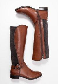 Caprice - BOOTS - Vysoká obuv - cognac - 3