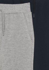 Name it - NKMVASIMO PANT 2 PACK - Tracksuit bottoms - grey melange/dark sapphir - 4