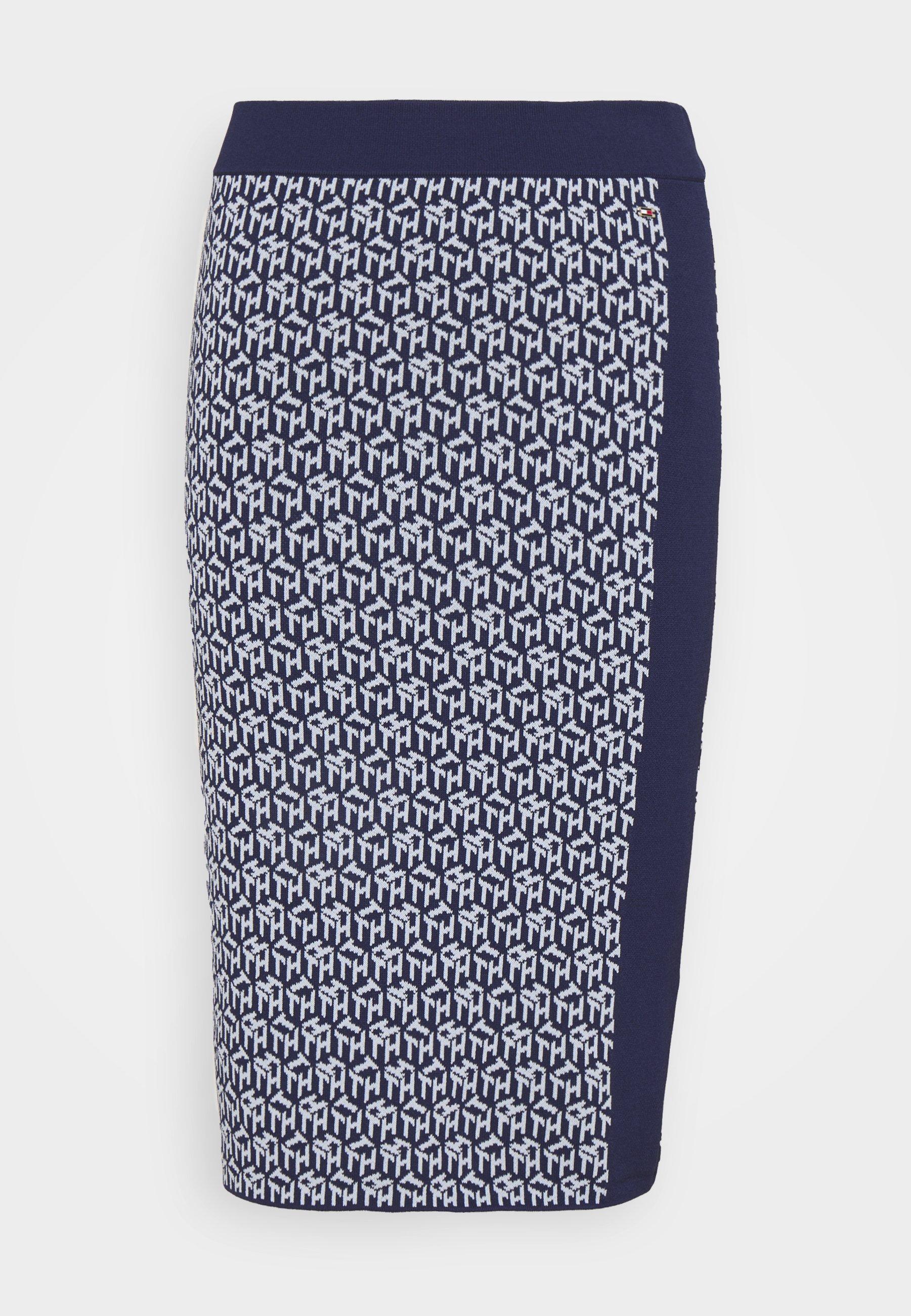 Women CUBE KNEE LENGTH SKIRT - Pencil skirt