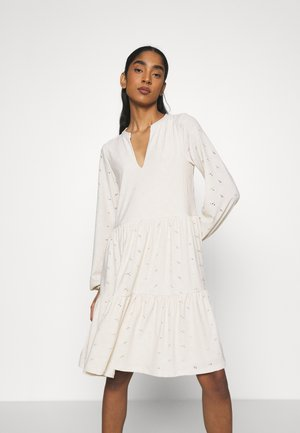 VISANIANA V-NECK DRESS - Jerseyjurk - birch