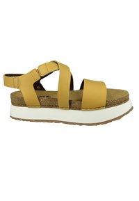 Art - Platform sandals - sun - 5