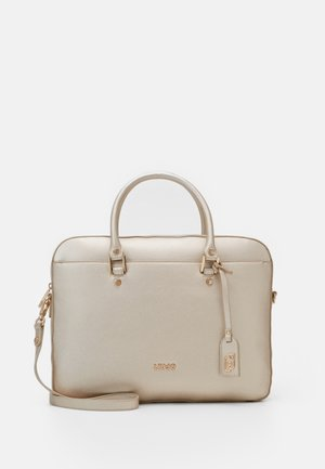 BRIEFCASE - Kabelka - light gold