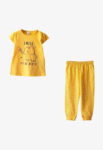 SET - Pyjama set - yellow