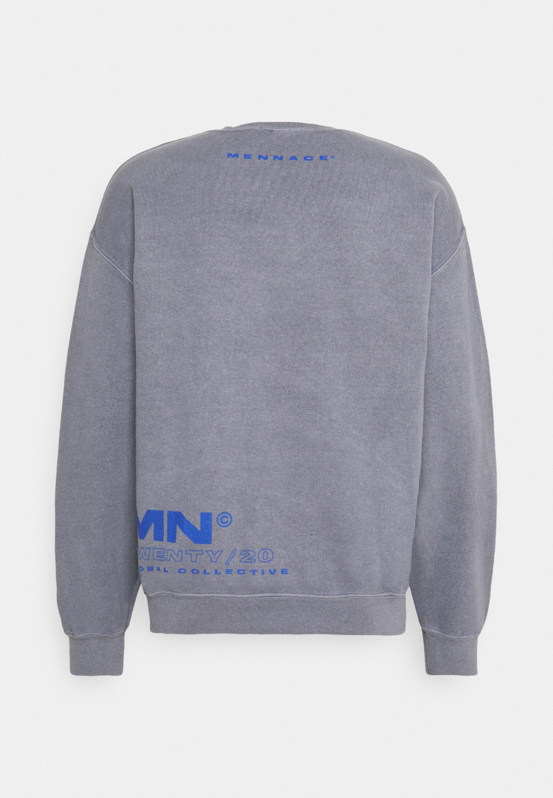 Mennace Global Collective - Sweatshirt Grey/grå