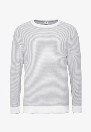 STRIPED  - Sweter - off white