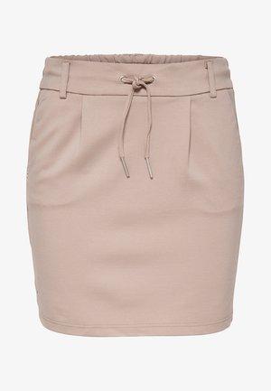 ONLPOPTRASH LIFE EASY  - Mini skirt - beige