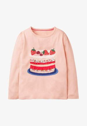 Long sleeved top - altrosa, kuchen