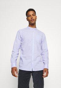 Scotch & Soda - LIGHTWEIGHT STRIPED SHIRT - Shirt - purple/white - 0
