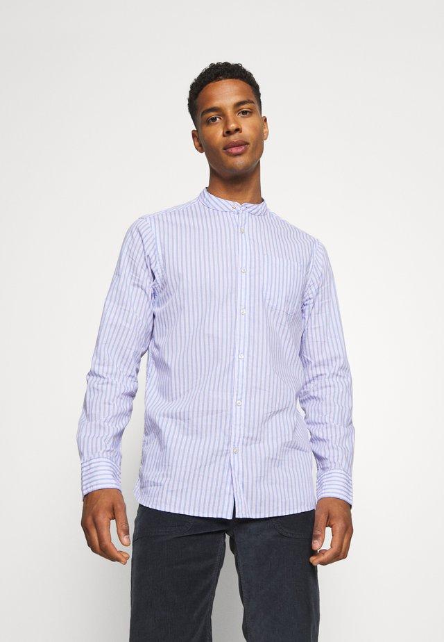 LIGHTWEIGHT STRIPED SHIRT - Camicia - purple/white