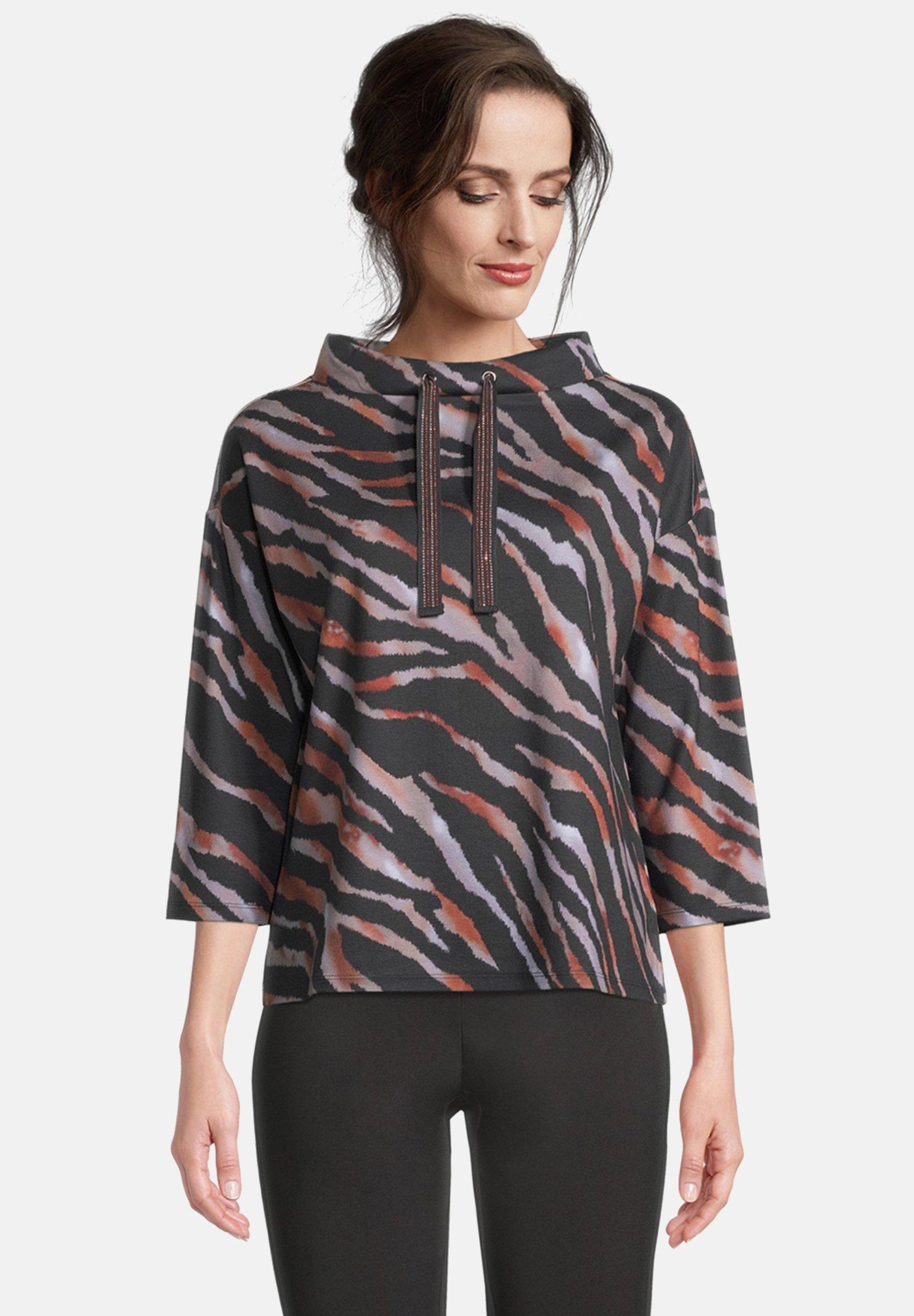 Damen MIT STEHKRAGEN - Sweatshirt