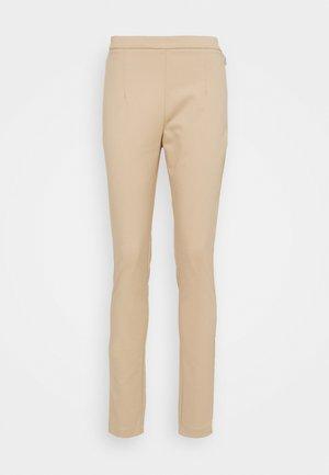 PANTALONI TROUSERS - Kalhoty - triking beige