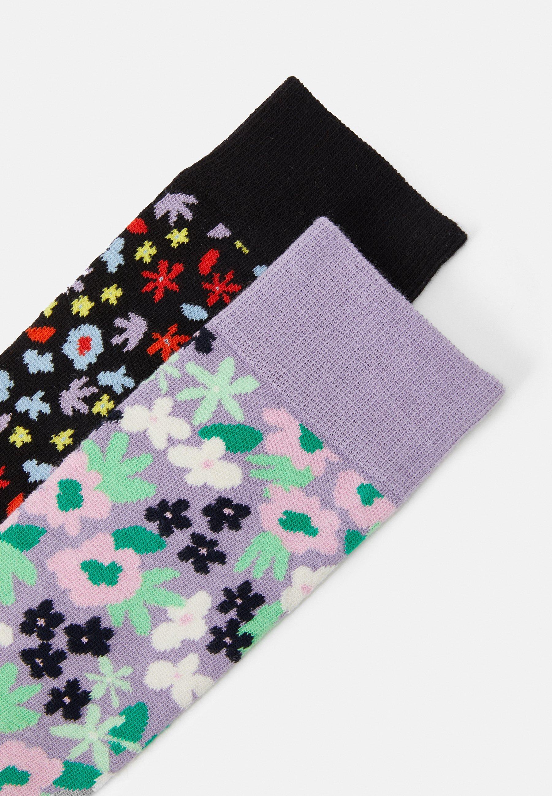 Men FLOWER SOCK UNISEX 2 PACK  - Socks