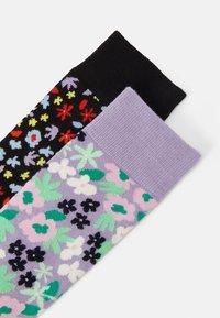 Happy Socks - FLOWER SOCK UNISEX 2 PACK  - Socks - multi - 1