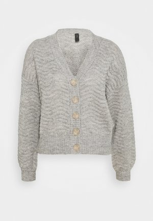 YASBETRICIA - Gilet - light grey melange