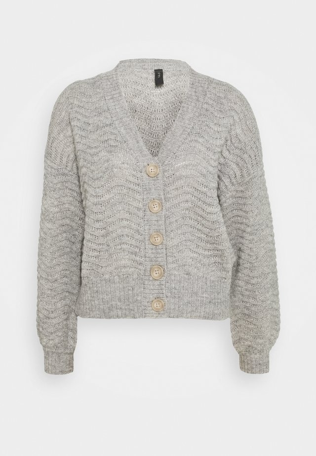 YASBETRICIA - Vest - light grey melange