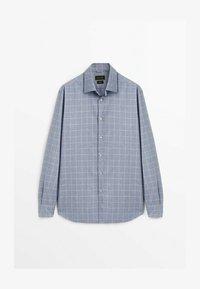 Massimo Dutti - SLIM FIT - Shirt - light blue - 2