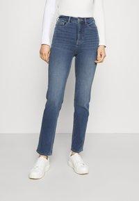 Marks & Spencer London - Straight leg jeans - light-blue denim - 0