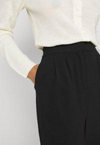 Vila - VIRASHA  - Trousers - black - 3