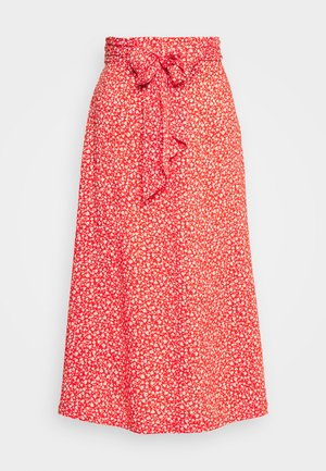 SISSEL SKIRT - Gonna a campana - red bright
