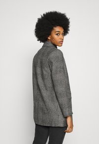 New Look - EMMA CHECK COAT - Short coat - grey - 2
