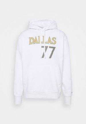 NBA DALLAS MAVERICKS LUKA DONCIC CITY EDITION NAME NUMBER HOOD - Club wear - white/dark steel grey