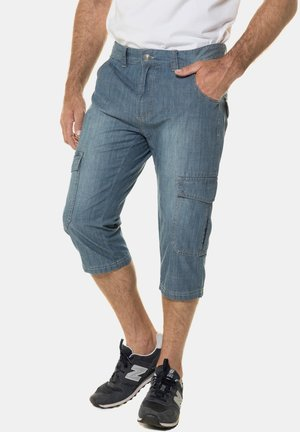 Jeansshorts - bleached denim