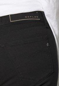 Replay - NEW LUZ - Jeans Skinny Fit - black - 4