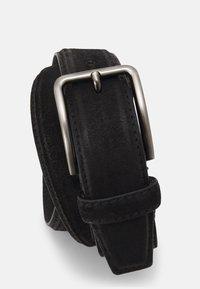 Zign - LEATHER UNISEX - Belte - black - 2