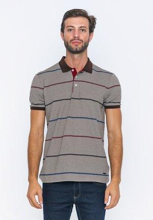 Poloshirts - brown/bordeaux