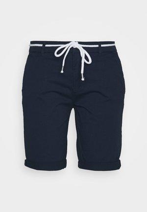 ONLPARIS LONG BELT - Shorts - navy blazer