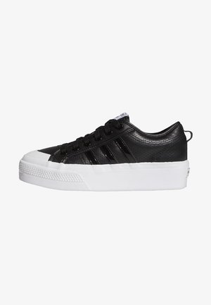 NIZZA PLATFORM - Trainers - core black core black ftwr white
