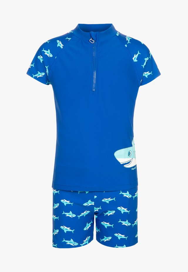 SET - Swimming trunks - blue
