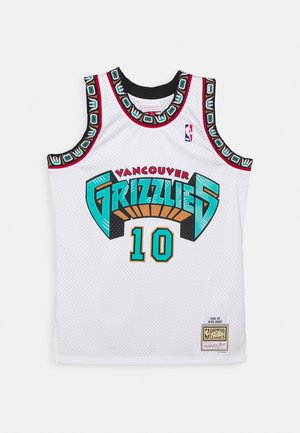NBA VANCOUVER GRIZZLIESMIKE BIBBY SWINGMAN - Club wear - white