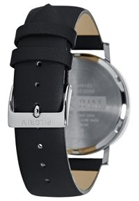 Pilgrim - Hodinky - silver-coloured/black - 2