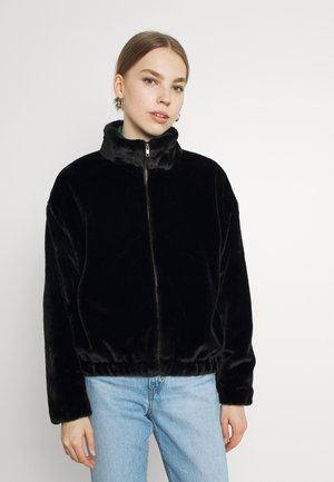 CROPPED JACKET - Giacca invernale - black