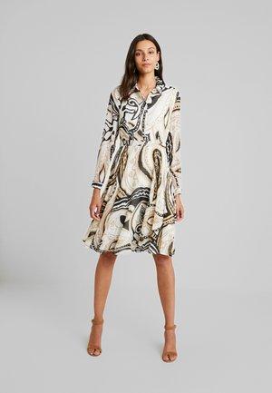 PRINTED DRESS - Shirt dress - multi-coloured