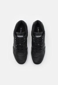 Lacoste - T-CLIP - Sneakers - black/dark grey - 3