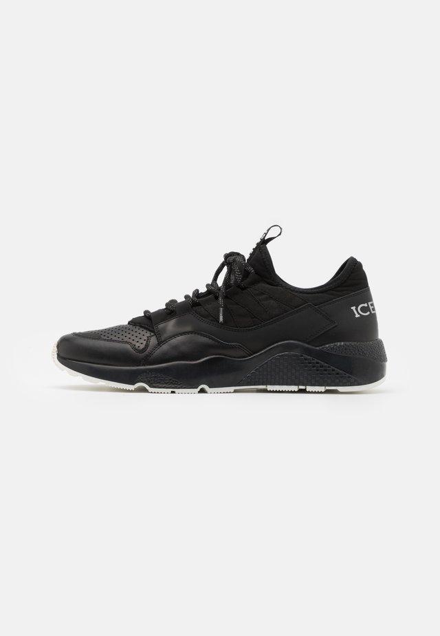 CANARIA - Sneakers basse - leblack