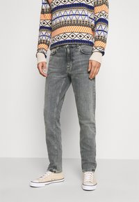 Nudie Jeans - LEAN DEAN - Slim fit jeans - grey denim - 0
