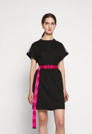 LOGO BELT - Belte - peony pink