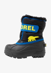Sorel - CHILDRENS - Winter boots - black/super blue - 1